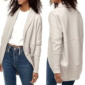 Wilfred Aritzia Diderot Grey White Cardigan
